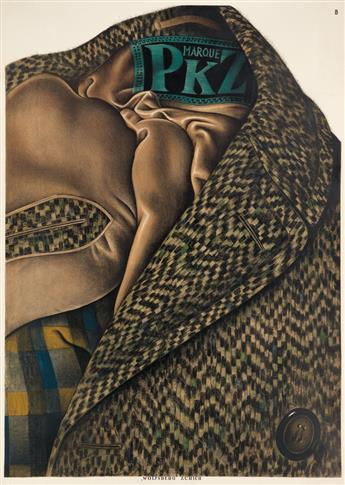 OTTO BAUMBERGER (1889-1961). MARQUE PKZ. 1923. 50x35 inches, 127x90 cm. Wolfsberg, Zurich.