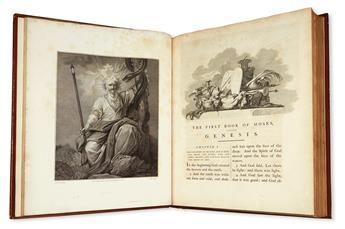 (BIBLE.) The Old Testament [&] New Testament, Embellished with Engravings, from Pictures and Designs by the Most Eminent English Artist