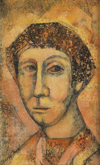 CHARLES SEBREE (1914 - 1985) Untitled (Portrait).