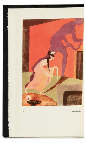 (ARISTOPHANES.) De Bosschère, Jean. Aristophanes.