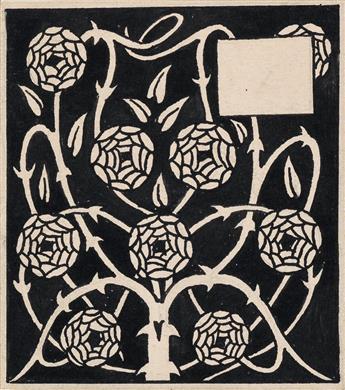 AUBREY BEARDSLEY. Rose Bush.