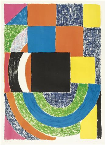 SONIA DELAUNAY Composition.