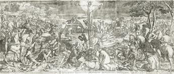 AGOSTINO CARRACCI The Crucifixion.