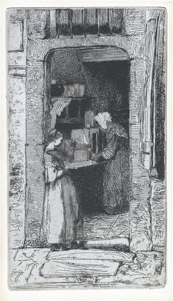 JAMES A. M. WHISTLER La Marchande de Moutarde.