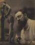 STEICHEN, EDWARD J. (1879-1973) Henri Matisse with La Serpentina, Issy-les-Moulineaux, France.