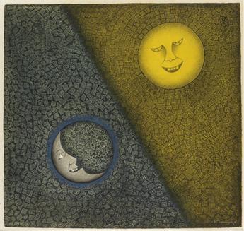 RUFINO TAMAYO Luna y Sol.