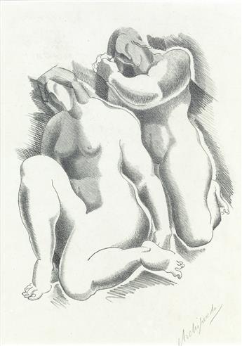 ALEXANDER ARCHIPENKO Female Nudes.