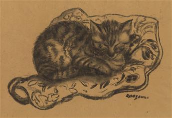 GEORGES HENRI MANZANA PISSARRO (Louveciennes 1871-1961 Menton) Two drawings.