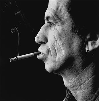 STEVE PYKE (1957- ) Keith Richards, London.