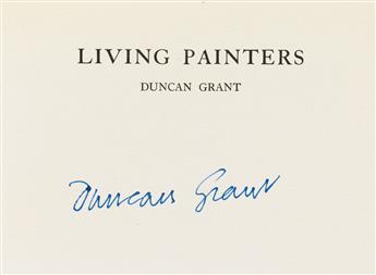 (GRANT, DUNCAN / HOGARTH PRESS.) Fry, Roger. Duncan Grant.