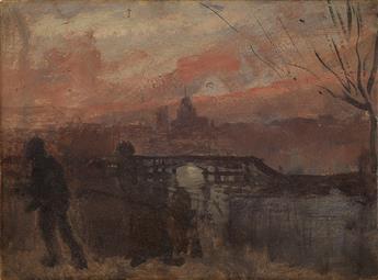 HENRI-CHARLES GUÉRARD (Paris 1846-1897 Paris) Two oils.