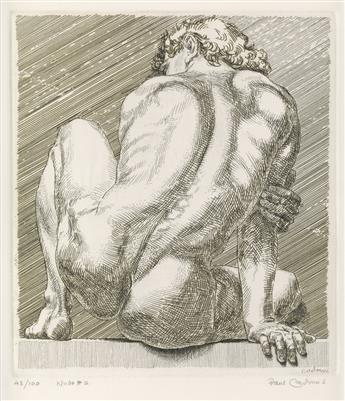 PAUL CADMUS Nudo #2.