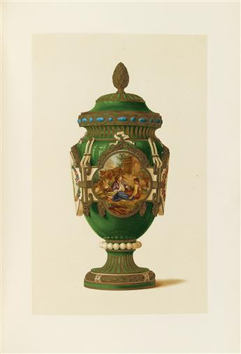 (PORCELAIN.) Catalogue des Porcelaines Françaises de M.J. Pierpont Morgan.