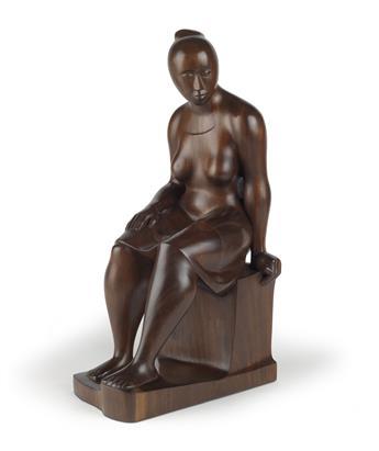 ELIZABETH CATLETT (1915 - 2012) Seated Woman.
