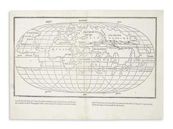 BORDONE, BENEDETTO. [World Map.]