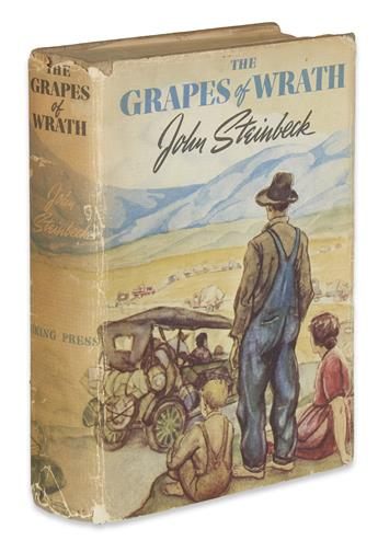 STEINBECK, JOHN. The Grapes of Wrath.