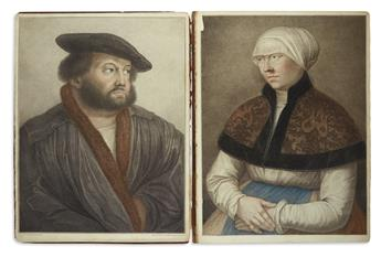 HOLBEIN, HANS, the younger; and LODGE, EDMUND. Imitations of Original Drawings by Hans Holbein in the Collection of His Majesty