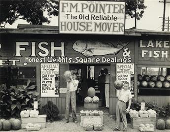 WALKER EVANS (1903-1975) Roadside Stand, Birmingham, AL.