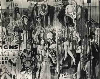 WALKER EVANS (1903-1975) Circus Poster, Alabama.