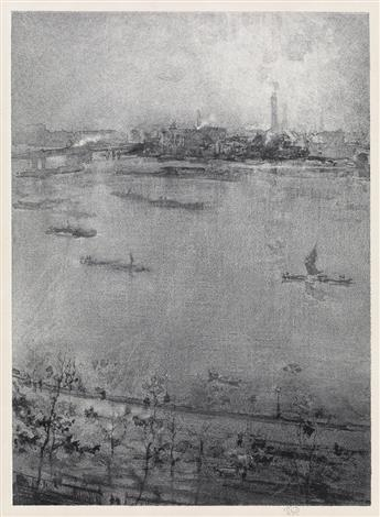 JAMES A. M. WHISTLER The Thames.