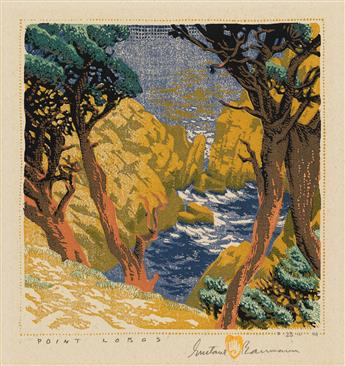 GUSTAVE BAUMANN Point Lobos.