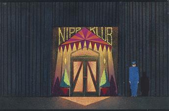 (THEATER) WILLIAM ODEN WALLER. Nipp Klub.
