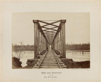 ROBERT BENECKE (1835-1903) A suite of 14 photographs pertaining to the Missouri, Kansas & Texas Railway.