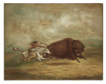CATLIN, GEORGE, after. [Buffalo Hunt, Chase].