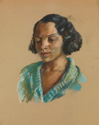JAMES A. PORTER (1905 - 1970) The Artists Wife.