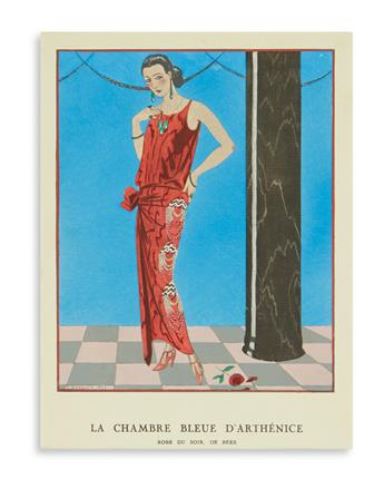(COSTUME.) Gazette du Bon Ton. Approximately 45 plates from the magazine by George Barbier.