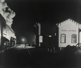 O. WINSTON LINK (1914-2001) Birmingham Special Rural Retreat, VA.