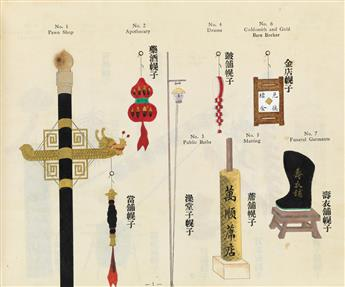 (CHINESE ART / DESIGN.) Fung, H. K. The Shop Signs of Peking.