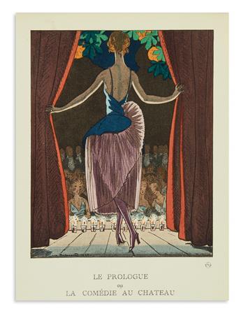 (COSTUME.) Gazette du Bon Ton. Approximately 55 plates from the magazine by Pierre Brissaud.