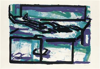 FRANK AUERBACH Reclining Figure I.