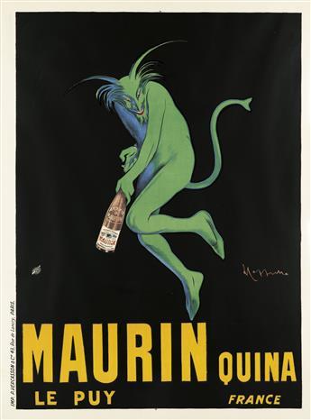 LEONETTO CAPPIELLO (1875-1942). MAURIN QUINA. 1906. 62x46 inches, 158x118 cm. P. Vercasson & Cie., Paris.
