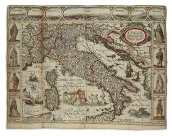 VERBIEST, PIETER. Italiae Sardiniae, Corsicae, & Confinium Regiorum Nova Tabula,
