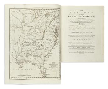 (AMERICAN INDIANS.) Adair, James. History of the American Indians.