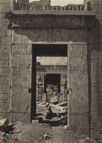 FRANCIS FRITH (1822-1898) Group of 5 photographs, comprising 4 of Egypt and and one of Ethiopia.