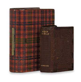 BIBLE IN ENGLISH.  The Holy Bible Containing the Old and New Testaments.  1896.  Miniature edition.