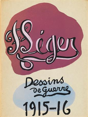 (LÉGER, FERNAND.) Cooper, Douglas. Fernand Léger Dessins de Guerre 1915-1916.