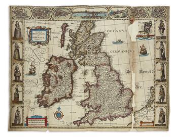 VERBIEST, PIETER. Magnae Britanniae et Hiberniae Tabula.