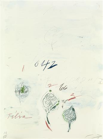 CY TWOMBLY Tilia Cordata.