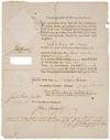 American Revolution--Signer. HANCOCK, JOHN. Partly-printed Document Signed,