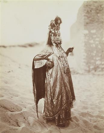 ALEXANDRE BOUGAULT (active 1890s-1910s) Selection of 47 photographs of Algeria.