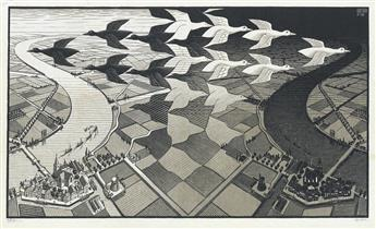 MAURITS C. ESCHER Day and Night.