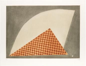 ARTHUR LUIZ PIZA Composition (con el triángulo rojo).