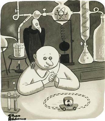CHARLES ADDAMS. Press Lab.