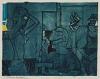 ROMARE BEARDEN (1911 - 1988) Untitled (Early Morning).