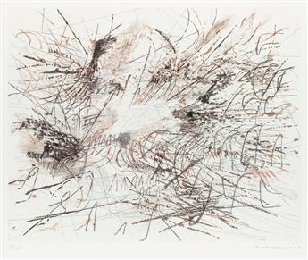 JULIE MEHRETU (1970 -   ) Untitled.