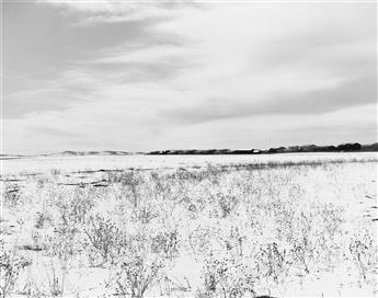 ROBERT ADAMS (1937- ) Untitled (snowy landscape).